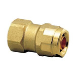 Double Lock Joint, WJ2, Tapered Female Thread, Bronze