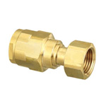 Double Lock Joints Model WJ18 Adapter with Nut Brass