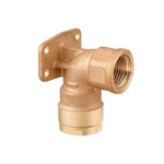 Double Lock Joint, WL5 Type, Shoulder Seat Water Faucet Elbow, Made From Bronze