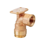 Double Lock Joint, WL6 Type, Backseat Water Faucet Elbow, Made From Bronze