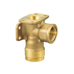 Double Lock Joint, WL33 Type, Double-Seat Water Faucet Elbow, Made From Bronze