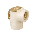 Double-Lock Joint, WLSF33 Type, Dual-Seated Water Faucet Elbow, with Heat Insulation Material