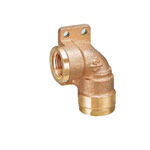 Double Lock Joint, WL14 Type, Left Seat Water Faucet Elbow, Made of Bronze