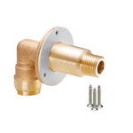 Double Lock Joint, WL32 Type, Elbow Tapered Male Screw for Wall Back Mounting