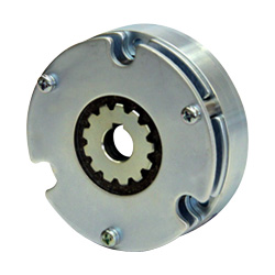 Spring-actuated-type-permanent-magnet-actuated brake (for braking)