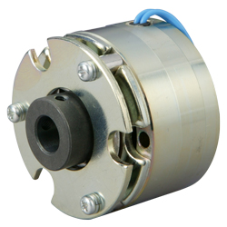 Micro Spring-actuated-type-permanent-magnet-actuated brake (for retention and braking) MCNB10G