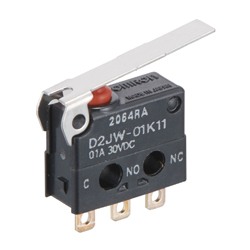Sealed Super-Ultra-Small Basic Switch D2JW