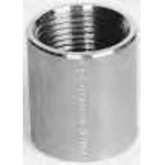 Stainless Steel Screw-In Pipe Fitting, Socket, Parallel Female Screw S