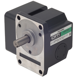 Orthogonal Shaft Solid and Hollow Gear Heads for Small AC Motors