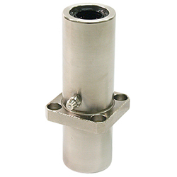 Flanged Linear Bushings Long LFLKC-Shaped Center-Positioned Rectangular-Shaped Flange Oil Hole