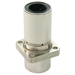 Flange Linear Bushing, LFDK-OH Type, Double, Center Position, Square Shape Flange, Lubrication Hole included