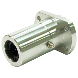 Linear Bush Housing with Flange LFWB Type Double Boss Position T Type Flange Aluminum Case Lubrication Hole