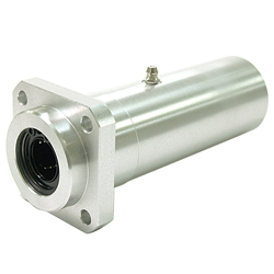 Linear Bush Housing with Flange LFWLB Type Long Boss Position Square Flange Aluminum Case Lubrication Hole