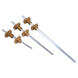 Miniature Hexagonal Spline, Single Nut (HTK) / Double Nut (HTKW) Series