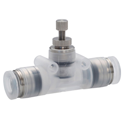 Throttle Valve PP Type Union Straight for Clean Environment