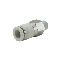 Non-return valve check valve straight resin type