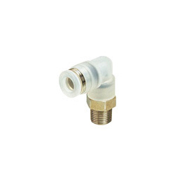 for Clean Environment, Tube Fitting PP Type Elbow, Screw Element SUS304