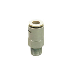 Tube Fitting for Chemicals, Chemical Type, Straight