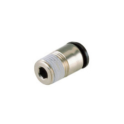 General Plumbing Tube Fitting Mini-Type, with Straight Hexagonal Socket