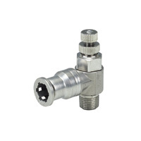 Corrosion Resistant Throttle Valve, SUS316 Type Elbow