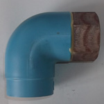 Pipe-End Anticorrosion Fitting, RCF-MK Type, for Fixture Connection, Dissimilar Metal Contact Preventing Type, Female Adapter Elbow