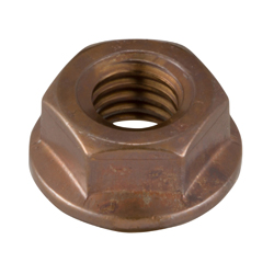 Flanged Nut with Serrations
