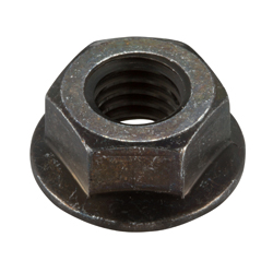 Flanged Nut with Serrations, Large Flange