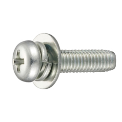 Tap-Tight S Type Pan Screw P=3(SW+JIS Flat W)