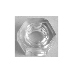 Polycarbonate, Hex Nut