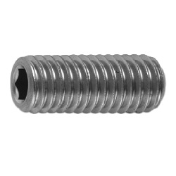 Hexagon Socket Set Screw, Indented Tip, by Tokosha Metal Works Co., Ltd.