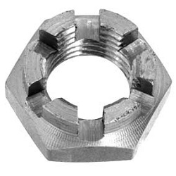 Castellated Nut, Short Type, 2 Type, Fine-Thread