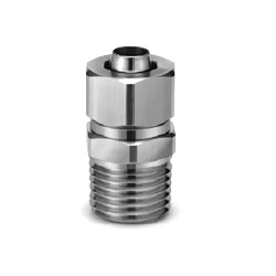 SUS316 Insert Fittings KFG2 Series, Male Connector KFG2H