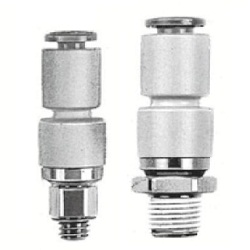Male Connector KSH (Standard Type) Rotary One-Touch Fitting