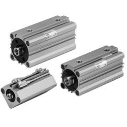 Compact Hydraulic Cylinder / Double Acting, Single Rod CH□QB Series