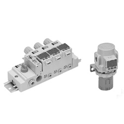Digital Pressure Switch (Built-In Regulator Type) ISE35 Series