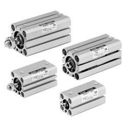 Compact Cylinder, Anti-Lateral Load Type CQS□S Series