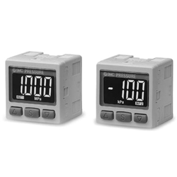 2-Color Display High-Precision Digital Pressure Switch ZSE30A(F)/ISE30A Series