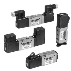 5-Port Solenoid Valve, Pilot Type, Metal Seal, Body Ported VFS1000 Series