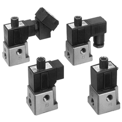 3‑Port Solenoid Valve Direct Operated Poppet Type VT317 Series
