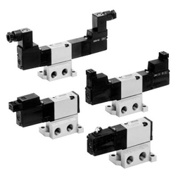 5-Port Solenoid Valve, Base Mounted, VZ3000 Series
