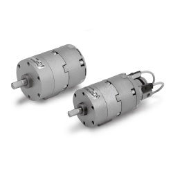 Rotary Actuator With Angle Adjuster, Vane Type, CRB2□WU Series