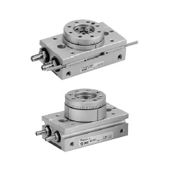 Rotary Table, Rack And Pinion Type, MSQ Series (Size 1, 2, 3, 7)