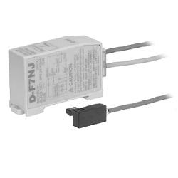 Heat-Resistant 2-Color Indication Type Solid State Auto Switch, Rail Mounting-Style, D-F7NJ
