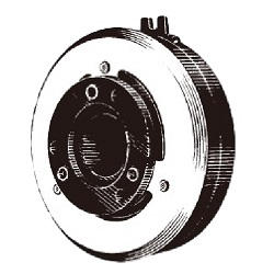 Selcab series through shaft type clutch