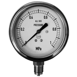 Socer Planning All Stainless Steel Pressure Meter / Compound Gauge / Vacuum Gauge - A Type