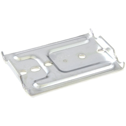 Pipe Frame Caster Attachment Brackets, JB-003