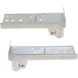 Pipe Frame Caster Attachment Brackets, JB-004L/R