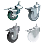 Screw-in Type Double Brake Caster [SL13A]