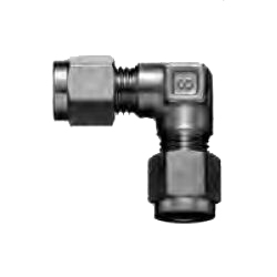 Copper Tubing Double Ferrule Fittings, Union Elbow