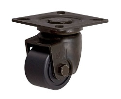 Low-Floor Caster, Free Type, MC Nylon Wheel